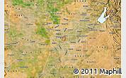 Satellite Map of ZIP code 95816