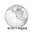 Outline Map of ZIP Code 95816