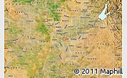 Satellite Map of ZIP code 95817
