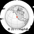 Outline Map of ZIP Code 95817