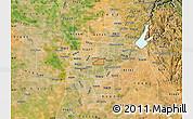 Satellite Map of ZIP code 95821