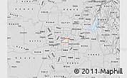 Silver Style Map of ZIP code 95821