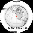 Outline Map of ZIP Code 95821