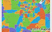 Political Map of ZIP code 95823