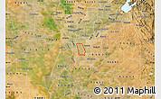 Satellite Map of ZIP code 95823