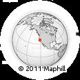 Outline Map of ZIP Code 95823