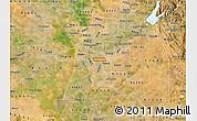 Satellite Map of ZIP code 95824