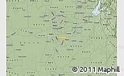 Savanna Style Map of ZIP code 95824