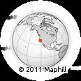 Outline Map of ZIP Code 95824