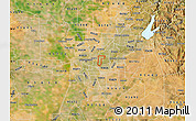 Satellite Map of ZIP code 95825