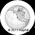 Outline Map of ZIP Code 95825