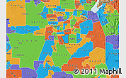 Political Map of ZIP code 95828