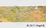 Satellite Panoramic Map of ZIP code 95828