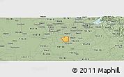 Savanna Style Panoramic Map of ZIP code 95828