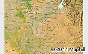 Satellite Map of ZIP code 95829