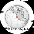 Outline Map of ZIP Code 95829