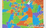 Political Map of ZIP code 95830