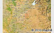 Satellite Map of ZIP code 95830