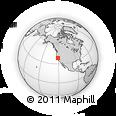 Outline Map of ZIP Code 95830