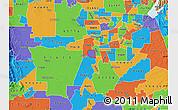 Political Map of ZIP code 95831