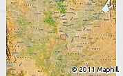 Satellite Map of ZIP code 95831