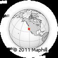 Outline Map of ZIP Code 95831