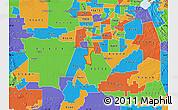 Political Map of ZIP code 95832