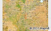 Satellite Map of ZIP code 95832