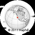 Outline Map of ZIP Code 95832