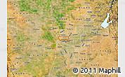Satellite Map of ZIP code 95833