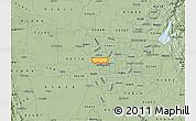 Savanna Style Map of ZIP code 95833