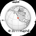 Outline Map of ZIP Code 95833