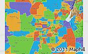 Political Map of ZIP code 95838