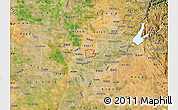 Satellite Map of ZIP code 95838