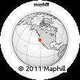 Outline Map of ZIP Code 95838