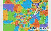 Political Map of ZIP code 95842