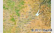 Satellite Map of ZIP code 95842
