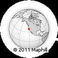 Outline Map of ZIP Code 95842