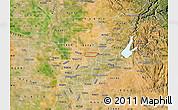 Satellite Map of ZIP code 95843