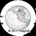 Outline Map of ZIP Code 95843
