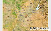 Satellite Map of ZIP code 95864