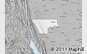 Gray Map of ZIP code 95937