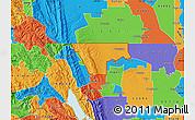 Political Map of ZIP code 95937