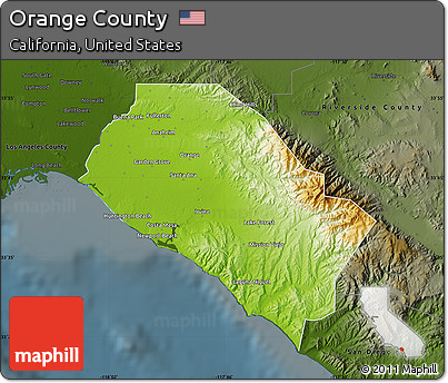 physical geography of orange county essay