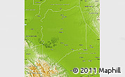 Physical Map of San Joaquin County