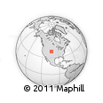 Outline Map of ZIP Codes Starting with 807