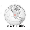 Outline Map of ZIP Codes Starting with 816