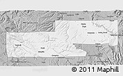 Gray 3D Map of Montrose County