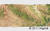 Satellite 3D Map of Montrose County