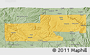 Savanna Style 3D Map of Montrose County